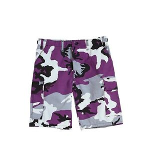 Rothco 7100 Ultra Violet Camo BDU Shorts