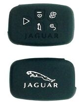 QUALITY SILICONE 5 BUTTON SMART KEYLESS FOB PROTECTOR CASE JAGUAR XK XF SE XFR
