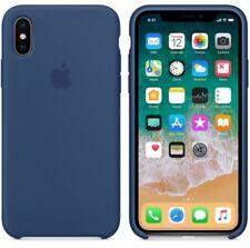 GENUINE ORIGINAL Apple Silicone Case Silikonhülle fur iPhone X-BLUE COBALT
