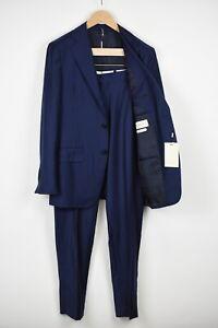RRP$599 SUITSUPPLY LA SPALLA Men UK36R Wool Cashmere Stripes 2-Piece Suit 16990_