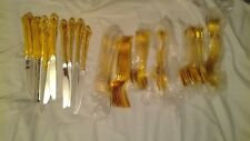 Gold Plated Flatware Carlyle