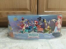 New Disney Store Little Mermaid Ariel and Sisters PVC Figures Complete Set of 7