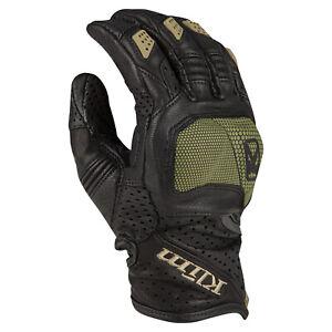 Klim Badlands Aero Pro Short Sage Motorcycle Gloves, Free Shipping, New!