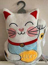 Plush Toy Doll Chinese/Japanese Fortune Lucky Cat Pillow Car HomeDecor Xmas Gift