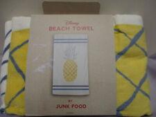 Disney Beach Towel by Junk Food - Pineapple - New w/tags