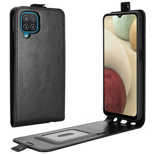 For Samsung A32 A12 A52 A72 A42 A22 Magnetic Vertical UP down Flip Leather Case