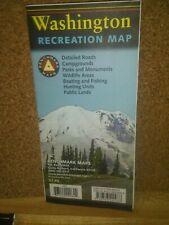 Washington Recreation Map (Sheet Map, Folded) BB