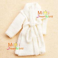 1/12 Dollhouse Miniature Toy Bathroom Bedroom white bathrobe nightgown