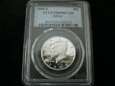 2006-S KENNEDY HALF DOLLAR PCGS PR69DCAM SILVER