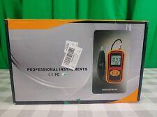 Digital Vibration Meter Vibrometer Tester Analyser Handheld Lcd Display
