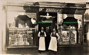 STEYNING, Sussex - Burdocks Tea & Coffee Merchant, 24 High Street in 1907