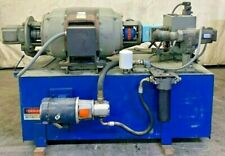 HYDRAULIC POWER UNIT 60 HP RED BAND MOTOR,230/460 VOLT 1160 RPM,390 GALLON TANK,