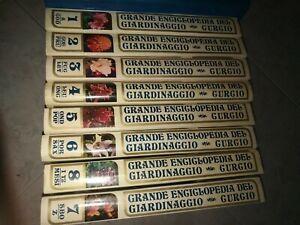 Grande enciclopedia del giardinaggio Curcio (8 volumi) - 1973