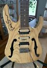 Ibanez Paul Gilbert Signature Series PGM80P signed Natural Guitar NO RESERVE for sale