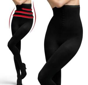 Great Quality Opaque Slimming Hourglass High Waist Shaping Tights 100 Den Denier