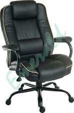 Goliath DUO Heavy Duty Executive Leather Computer Office Chair Black or Cream