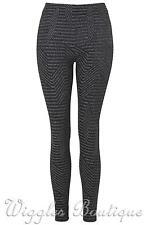 Topshop Full Length Geometric Leggings for Women