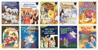 NEW Arch Book Christmas Titles Set of 10 Paperback Bible Stories Mary Jesus Baby