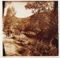 Paesaggio Francia Foto Stereo PL58L1n Placca Da Lente 1923