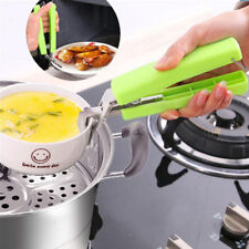 IM- Stainless Steel Anti-Hot Pot Pan Hot Dish Bowl Gripper Clip Kitchen Tool Lit