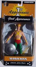 DC DIRECT FIRST APPEARANCE HAWKMAN ACTION FIGURE. Series II. NEW IN BOX 6 INCHES