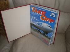 Take off plane magazines in binder number 3 . 12 copies,No 25 to 36.