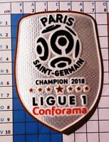 France Patch badge  LFP Ligue 1 maillot de foot du Paris.SG Champion 18 Mbappé