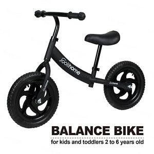 NEW Arrival Kids Balance Bike Walking Balance Training Kids Gift&Toys Black UK