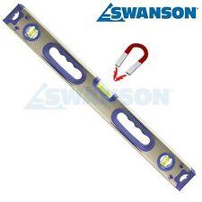 Swanson Tools IBX48M 48-Inch Magnetic Aluminum I-Box Beam Level