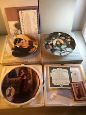 Bradford Exchange Gone With The Wind Plates Lot Of 3