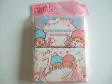 Sanrio Little Twin Stars Kawaii Pocket Tissue 4pcs/MADE IN JAPAN
