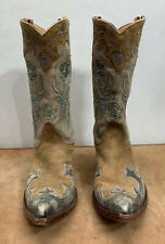 OLD GRINGO Blue Bird GOLONDRINA Western Boots Women's 8.5 D