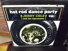 Jerry Cole & His Spacemen Hot Rod Dance Party vinyl LP VG+ Capitol 1964 MONO