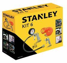 STANLEY Kit 6 Pezzi Set per Aria Compressa - Multicolore (9045717STN)