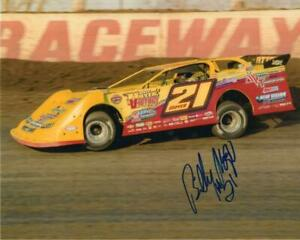 Billy Moyer autographed Dirt Late Model 8x10 photo