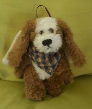 Boyds Willie S Hydrant Plush Angel Dog Ornament 5625 jointed bandana