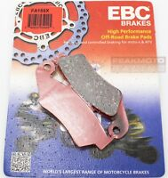 EBC FA185X - X Series Carbon Brake Pads Honda CR125R 95-07, CRF230F 03-15 FRONT