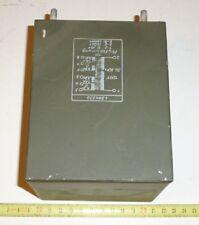 Trafo Netztrafo 120 Volt --> 2x 6,3 V m. Mittelanz. je 7,5 Amp  50 - 60 Hz