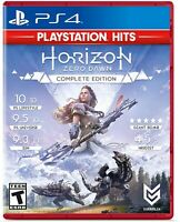 Horizon: Zero Dawn (Sony PlayStation 4, 2017, Complete Edition) Spanish Cover