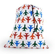 Kikkerland avion design voyage sacs à linge sac de lavage de voyage uni sac