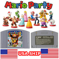 NEW Mario Party 2 - For Nintendo 64 Video Games Cartridges N64 Console US SHIP