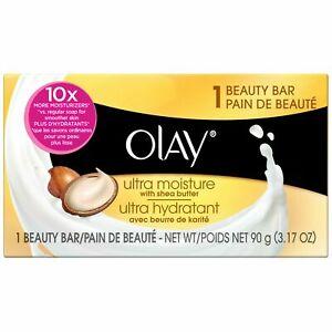 Olay Ultra Moisture Shea Butter Beauty Soap Bar (3.17 oz/90 g)