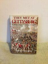 They Met at Gettysburg by Edward J. Stockpile (1956) HCDJ