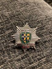 More details for cumbria fire brigade service cap badge