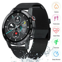 Waterproof Sport Smart Watch Blood Pressure Heart Rate Monitor Fitness Tracker