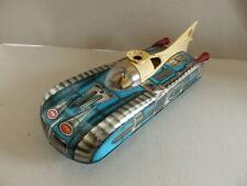 Vintage Hungarian Tin Toy Space Rocket Car