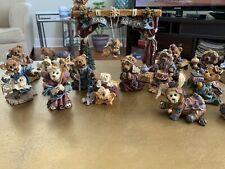 Euc Boyd's Bears Full Nativity Set