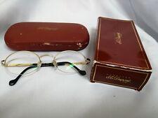 ST. Dupont Lunette Glasses eyeglasses sunglasses Half-frame Vintage
