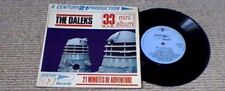 DOCTOR WHO THE CHASE THE DALEKS 1st UK PS EP 1966 GERRY ANDERSON BARRY GRAY RARE