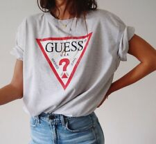 GUESS Oversized Logo Women`s T-shirt